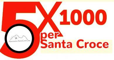 5 x 1000 per l'Associazione Santa Croce